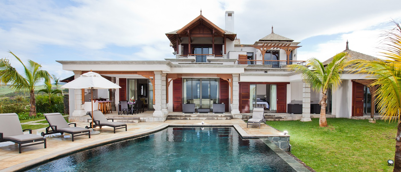 Luxury homes and villas in bel ombre mauritius for Classic home villa home collection